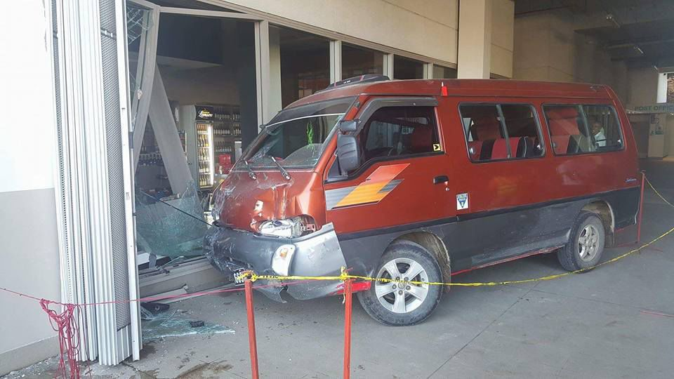 Damage in liquor shop result of alleged drunk driving accident