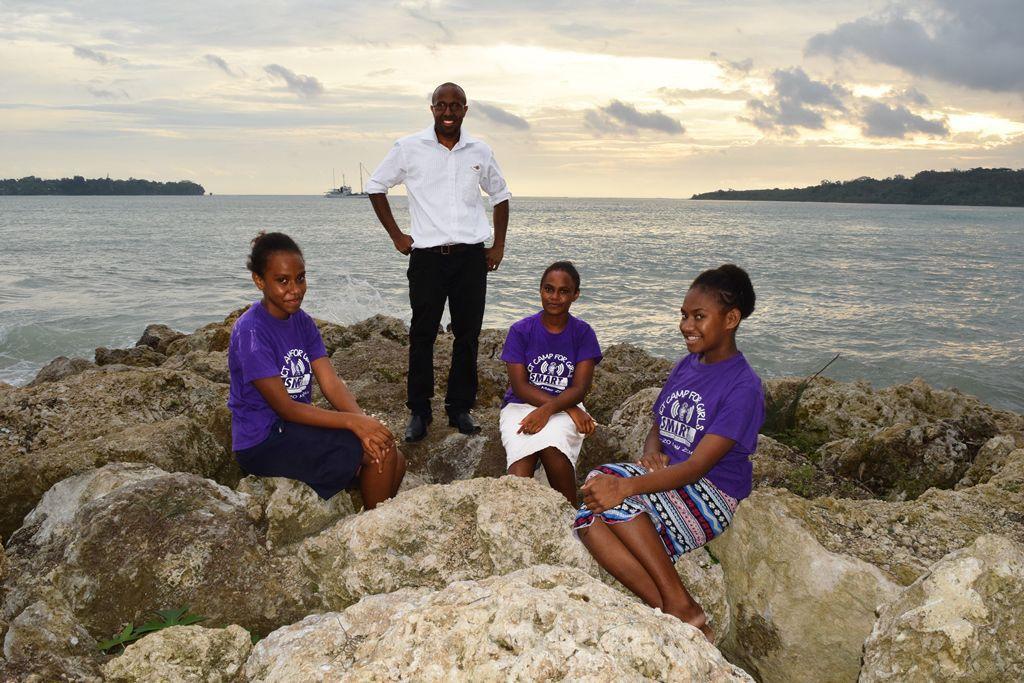 SMART Sistas to represent Vanuatu at first robotic Olympic Games