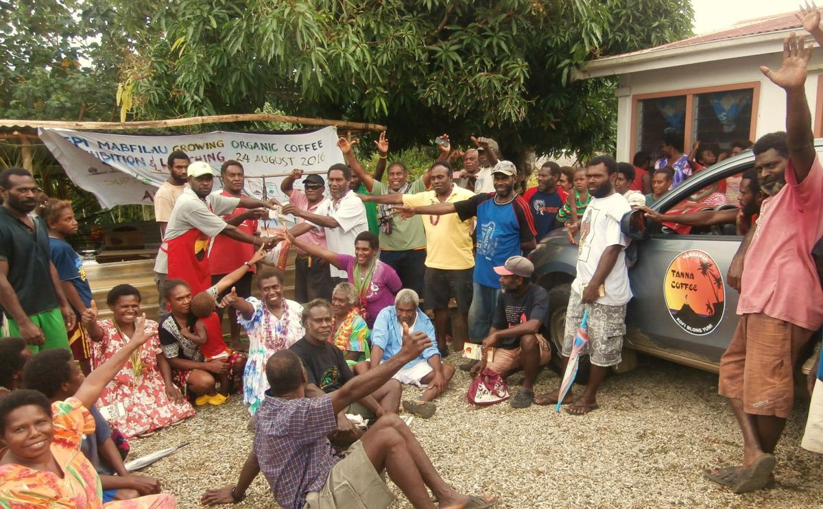 Epi coffee farmers make first harvest