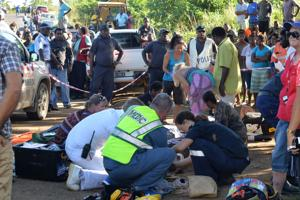 Fatal accident leaves one dead, 14 people injured