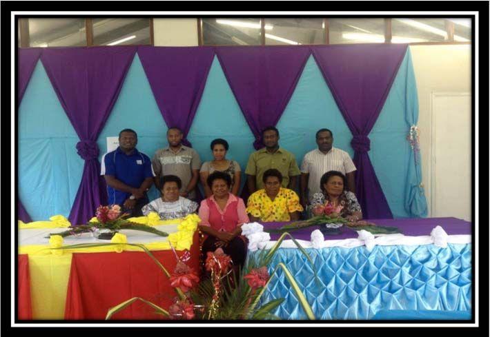 VANUATU CHURCH PARTNERSHIP PROGRAM