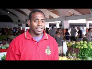 Local Chef - Chris Bulameme from Vanuatu