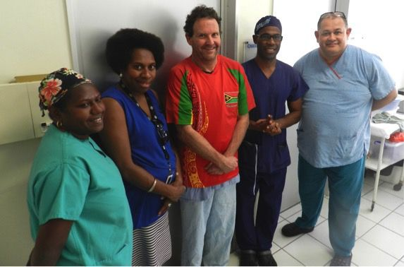 Surgeons from Oz and Vanuau