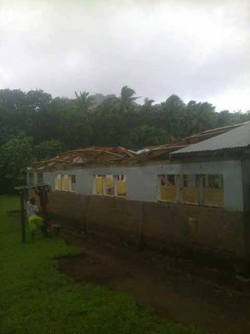 Homes destroyed as severe storm makes landfall in Torba