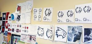 Wildcat Logo Wall