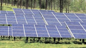 This computer-generated image from 2009 offers a preview of what the Teanaway Solar Preserve will look like. The company says it still plans to build.