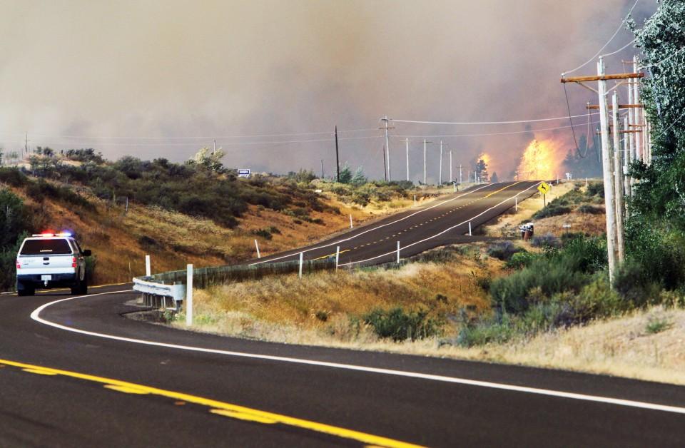 Taylor Bridge Fire