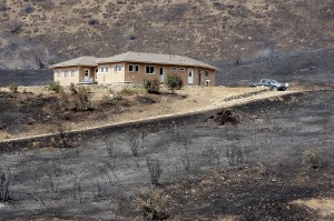firewise saved home from wildfire
