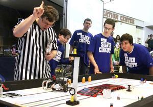 Robots battle at CWU
