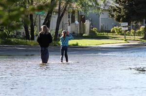 Parklane flooding
