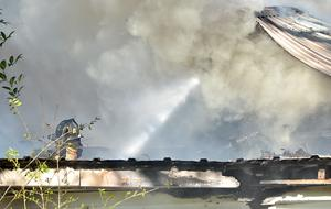 FM 1878 House Fire