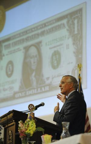 Federal Reserve Bank CEO speaks at Rotary