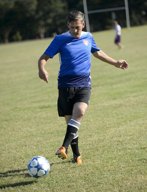 Adult soccer tournament