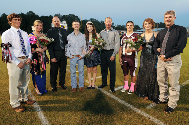 Garrison Homecoming Queen and Court