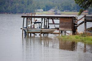 Lake Nacogdoches Level Update