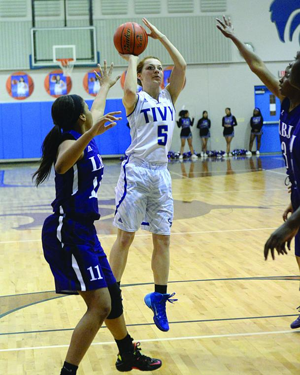 Girls Basketball State Playoffs Open For Handful Of: Tivy Girls Basketball Playoff Vs. LBJ Austin