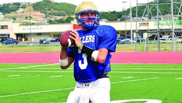 Tivy quarterback Johnny Manziel