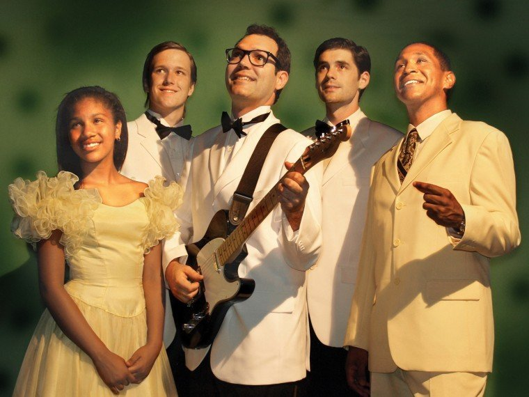 Buddy Holly Drummer Chris Huber as Buddy Holly