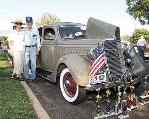 Auto show brings in scholarship funds