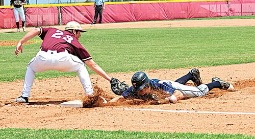 Sliding back to first