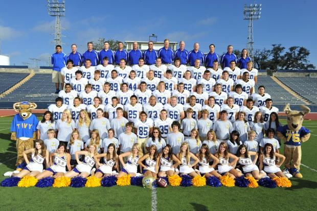 2010 Tivy Football Team