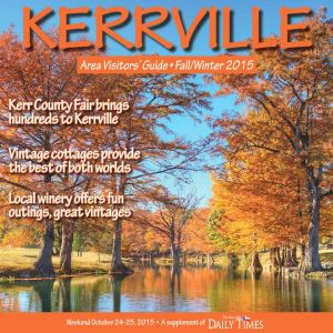 Kerrville Visitors' Guide Fall Winter 2015