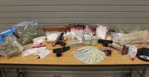 LCSO arrests six in drug busts, seizes meth, marijuana