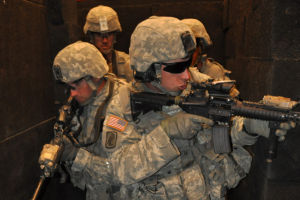 Oregon's 41st Infantry Brigade trains in Idaho