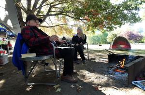Fall camping offers solitude, beauty for mid-valley families