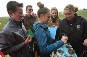 150 ag/FFA students test their soils skills at annual contest