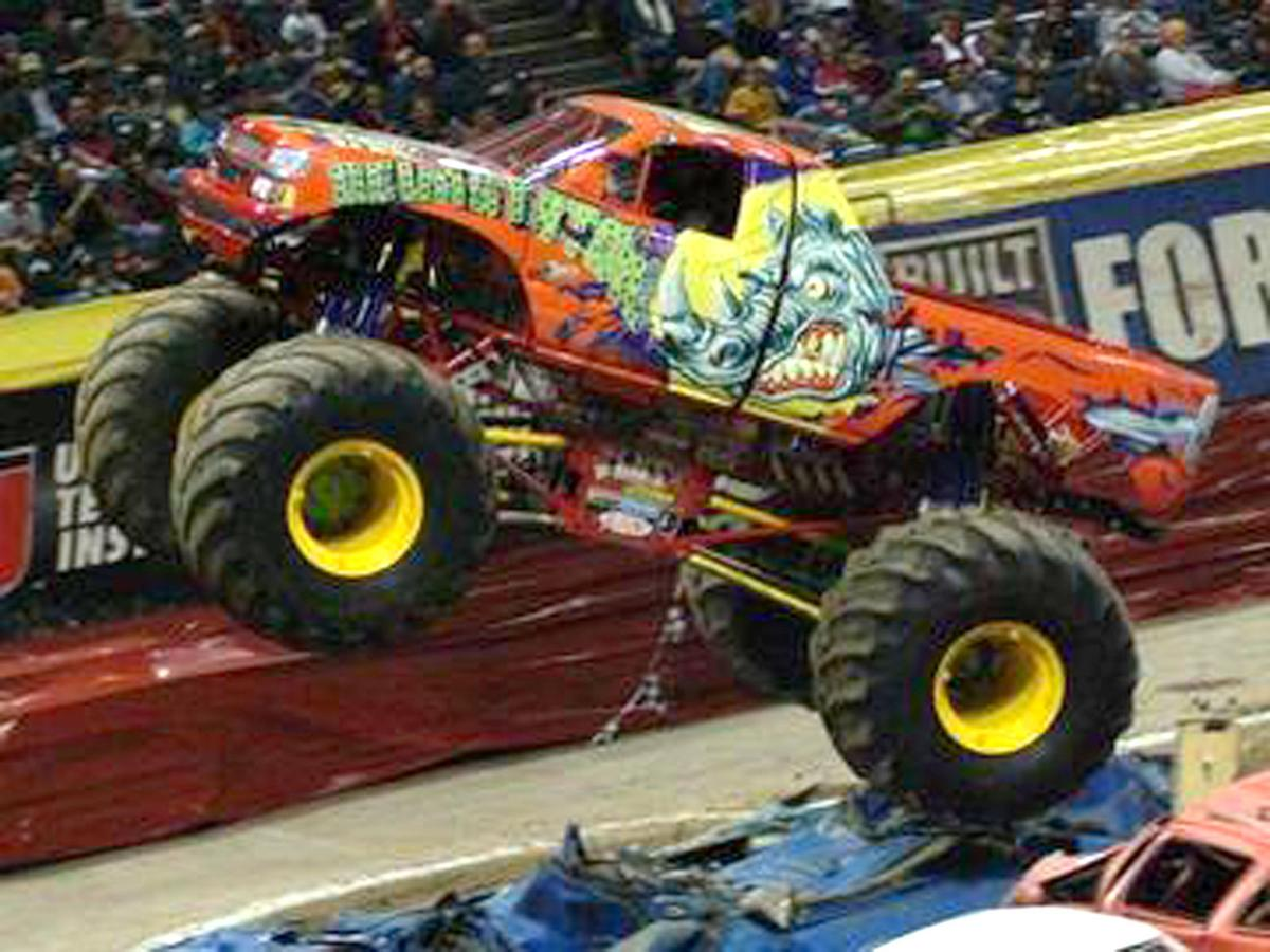 Monster Cars And Trucks >> Monster trucks to shake, rattle, roll at Expo Center | News | democratherald.com