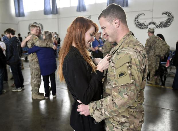 Welcome Home: Corvallis-based Bravo company returns home from Afghanistan