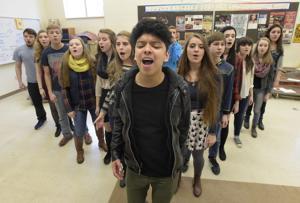 Gallery: West Albany a cappella choir Rhythmix