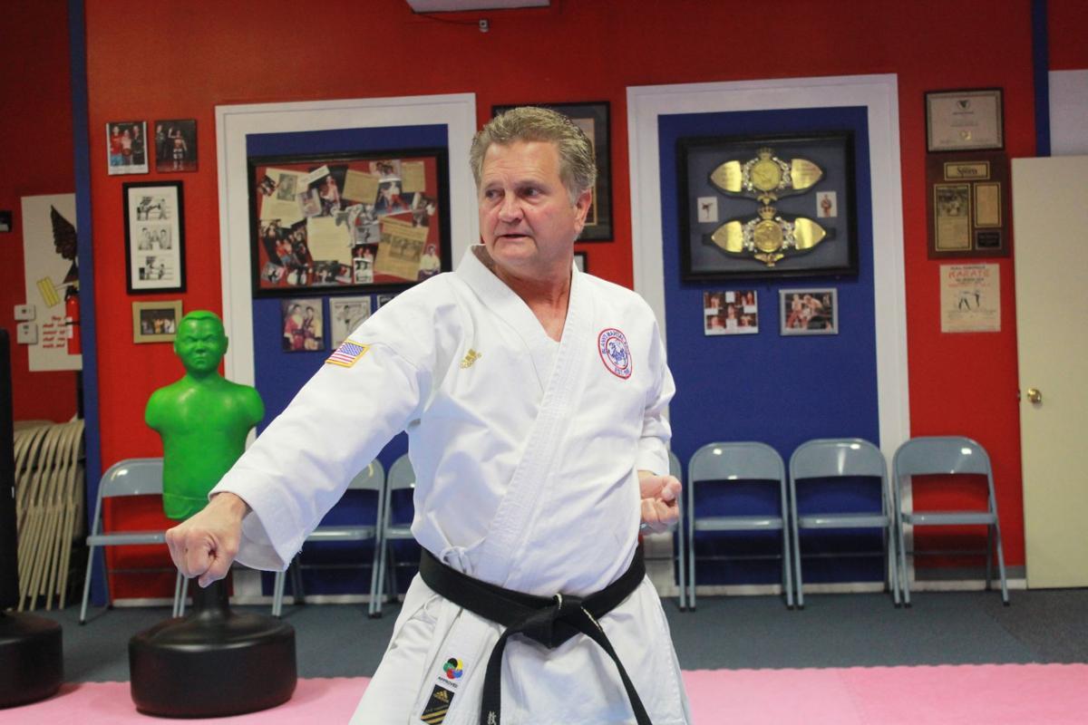 Kicking it up a notch with karate