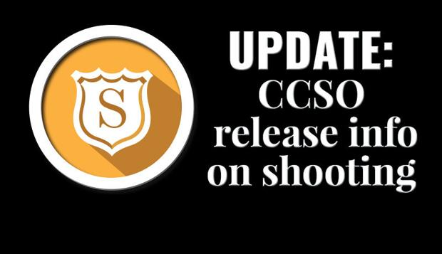 County releases information on CCSO shooting