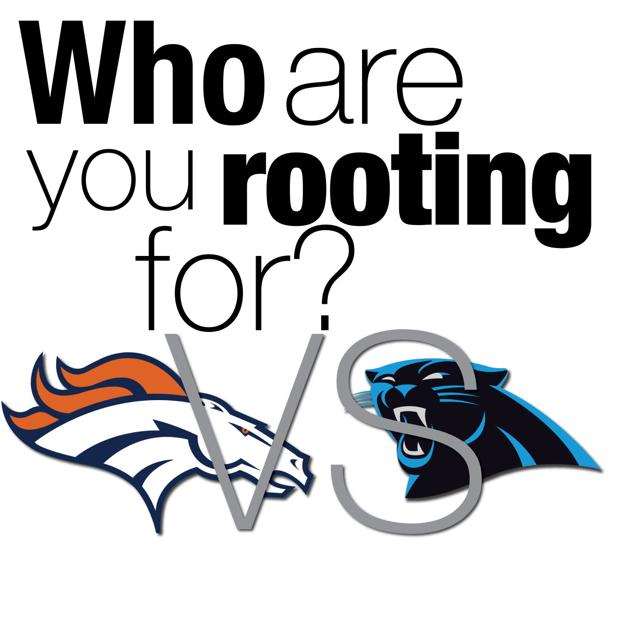 Who are you rooting for in Super Bowl 50?