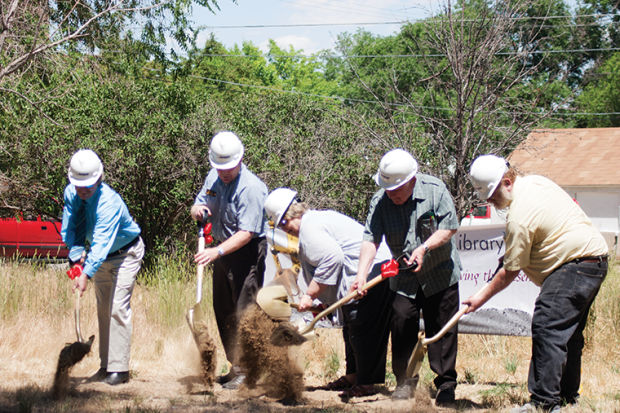 Groundbreaking – Turning the page on a new chapter for the Glenrock Library Project