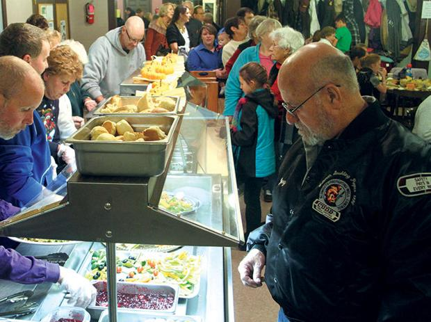 Senior Center turkey dinner raises $2,600