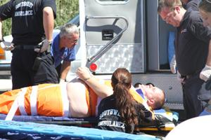 Inmates injured