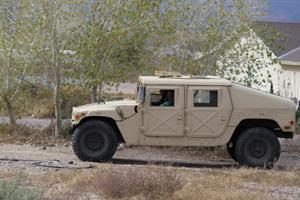 Safford Humvee