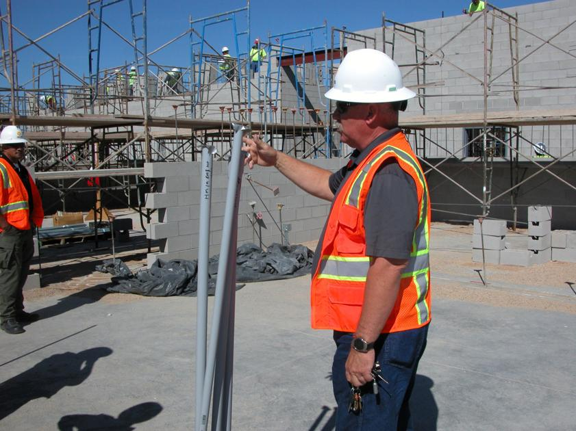 Graham County's new jail progressing nicely | Local News ...