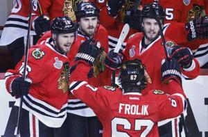 Stanley Cup Bruins Blackhawks Hockey-3