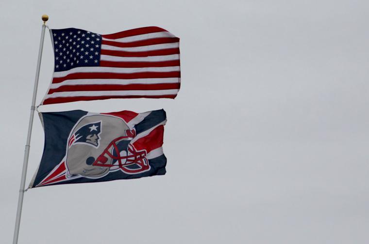 Flag And a Patriots Flag
