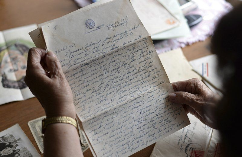 Letters from a soldier: Retracing the path of WWII pen pal | News ...