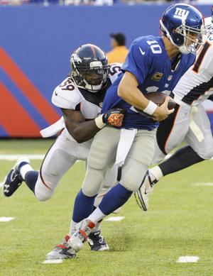 Broncos Giants Football