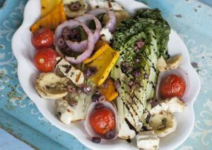 Food Grilled Greek Salad-6