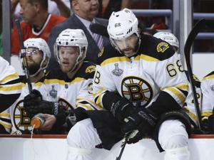 Stanley Cup Bruins Blackhawks Hockey