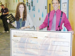 Michelle Mandola receives $250 from local attorneys