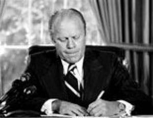 Ford saved a nation with pardon of Nixon