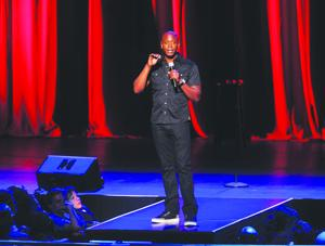 <p>Dave Chappelle performs at Radio City Music Hall on Wednesday, June 18, 2014, in New York City. (Photo by Brad Barket /Invision/AP)</p>